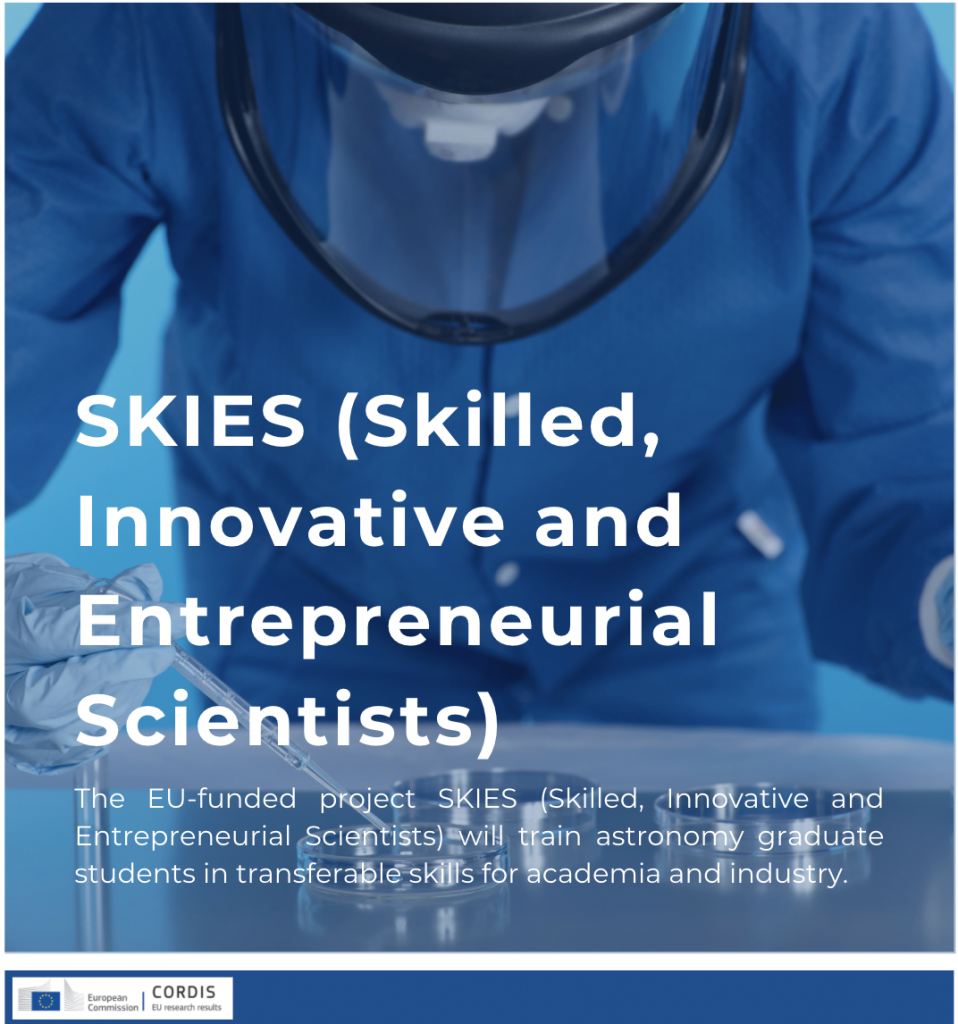 (Skilled, Innovative and Entrepreneurial Scientists)